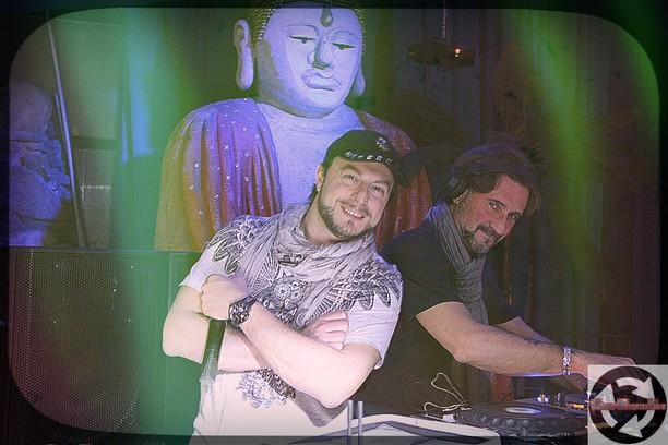 Dj Giuseppe & Paolino di 105 al PrimaVera global night