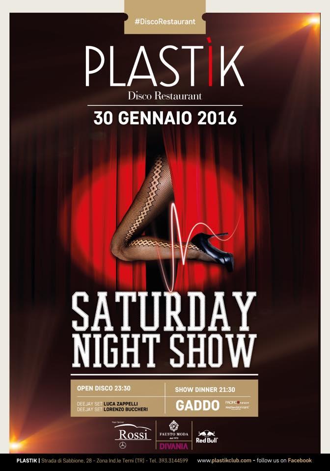 Plastik Saturday Night Show - GiroDisco.it