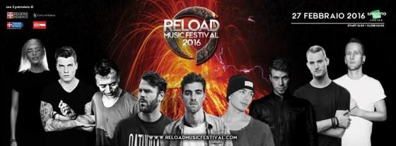 Il 27 Febbraio appuntamento con Reload Music Festival
