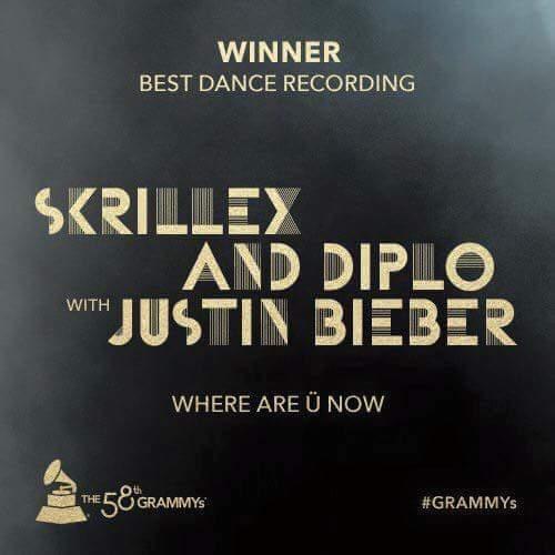 Grammy Awards 2016 vincono Skrillex e Diplo
