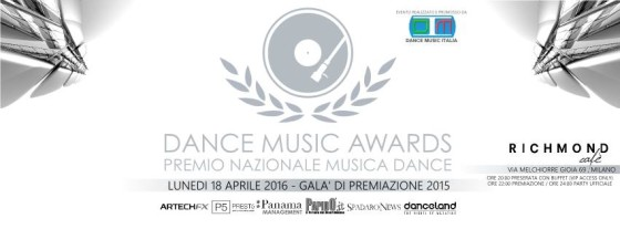Ultimi voti per Dance Music Awards