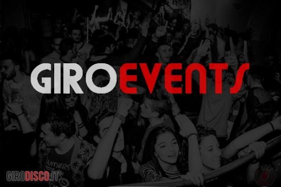 Eventi disco 2° weekend di Aprile, GiroEvents