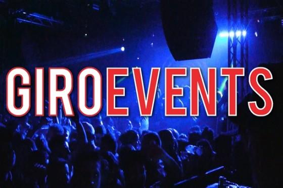 Eventi disco 4° weekend di Aprile, GiroEvents