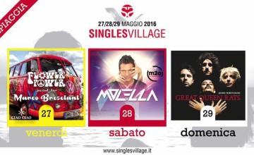 La line-up del Singles Village