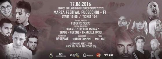 Marea Festival a Fucecchio (FI) con Federico Scavo and friends