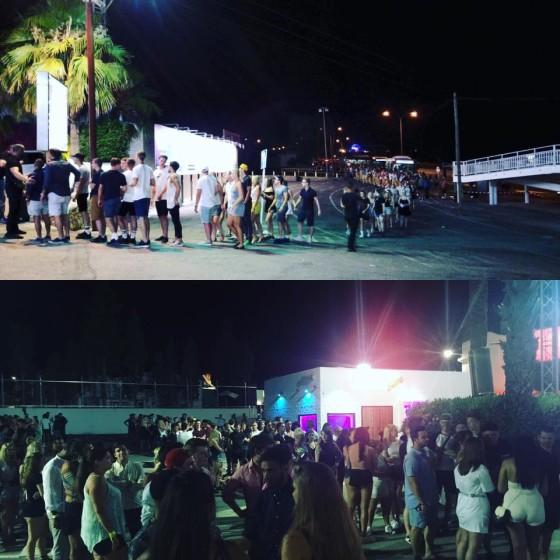Non si ferma la musica dell'Amnesia d'Ibiza
