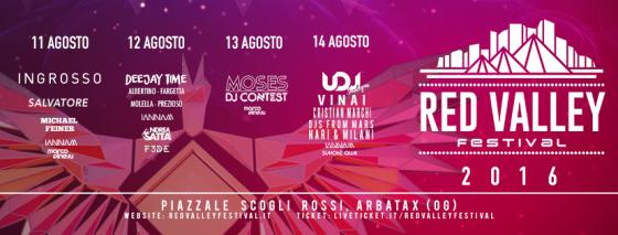 Ad Arbatax (OG) è Red Valley Festival 2016