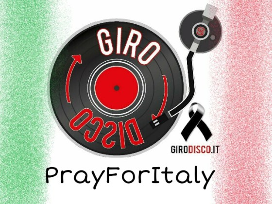 GiroDisco PrayForItaly