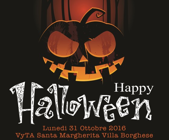 """""""Happy Halloween"""" presso Villa Borghese a Roma, tra dj set ed effetti speciali"""