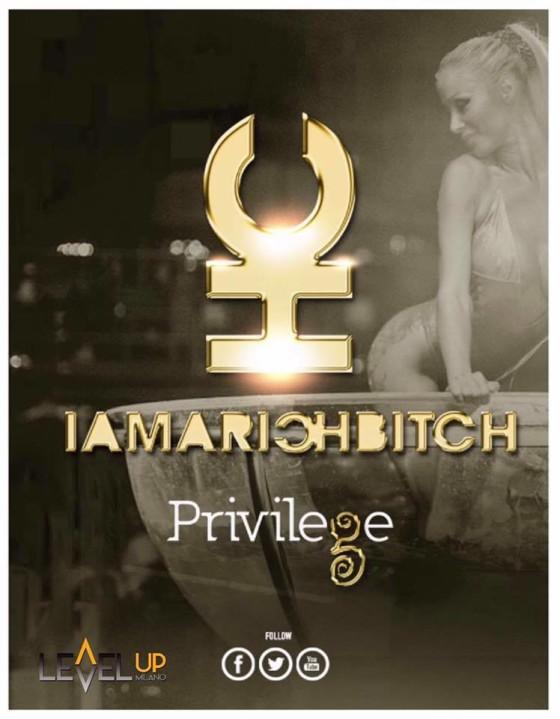 I Am a Rich Bitch from Privilege Ibiza allo Tsunami Club Osnago (LC)