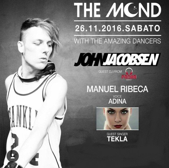 John Jacobsen @ The Mond – Narni (TR)