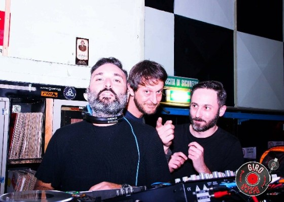 Live Tartana Officialparties, Luca Guerrieri e Giacomo Donati