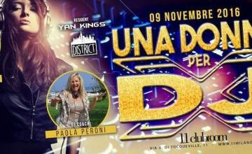 All'11clubroom – Milano, Una Donna per dj e vocalist