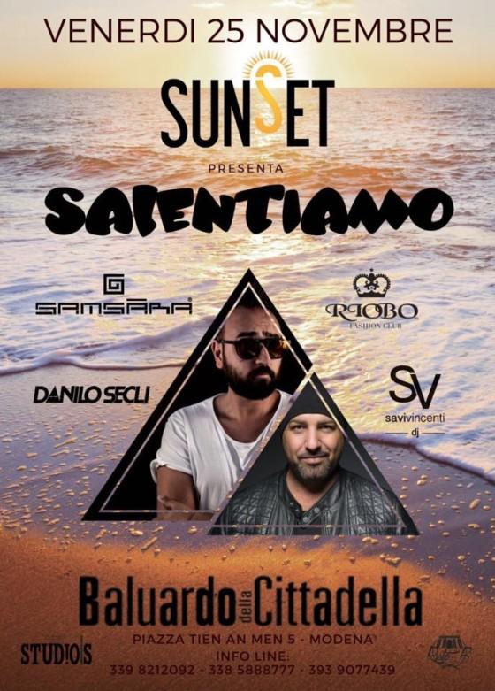 Salentiamo, con Danilo Seclì e Savi Vincenti al Baluardo della Cittadella di Modena