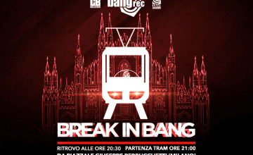 Break In Bang, si balla sul tram in giro per Milano