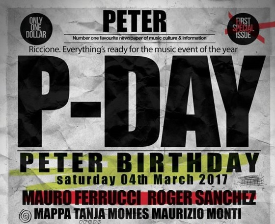 Sabato 4 marzo il Peter Pan Club di Riccione, festeggia il decimo compleanno
