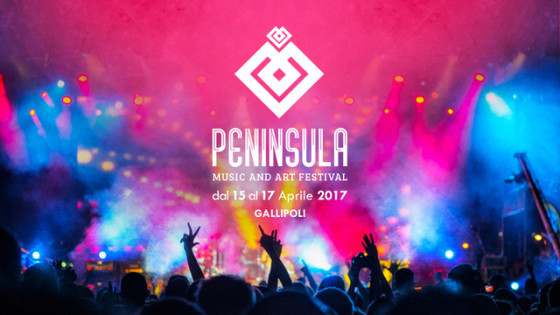 Dal 15 al 17 Aprile Peninsula Music and Art Festival 2017