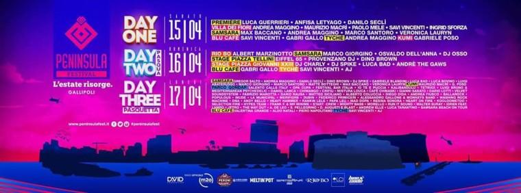 Cosa succederà al Peninsula Music and Art Festival