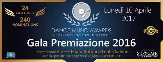 Questa sera la finale dei Dance Music Awards 2016