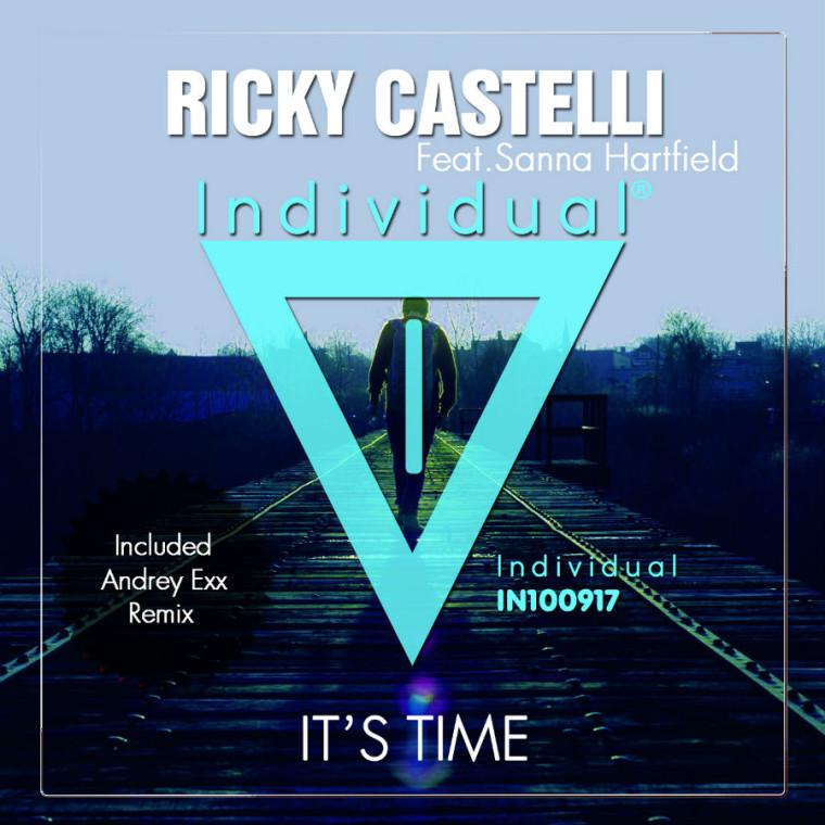 It's Time, il nuovo disco di Ricky Castelli featuring Sanna Hartfield