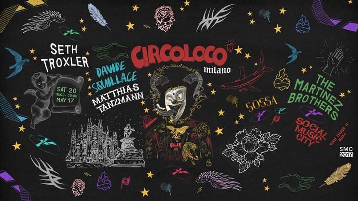 Sabato 20 maggio Circoloco Milano al Social Music City