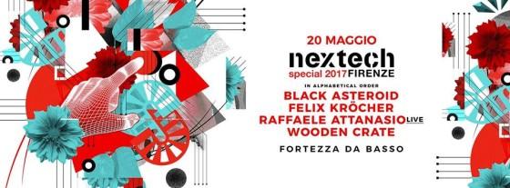 Sabato 20 maggio, Nextech Special a Firenze