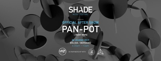 After Show Shade Music Festival al Bolgia di Bergamo