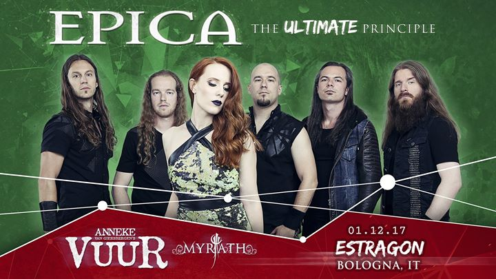 Epica – 1 dicembre 2017 Estragon Club