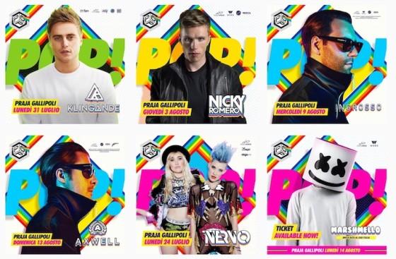 I primi nomi del PopFest 2017
