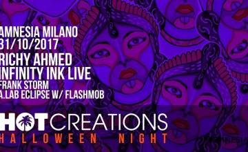 Halloween Night all'Amnesia Milano, con Hot Creations