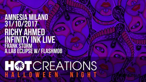Halloween Night all'Amnesia Milano, con Hot Creations