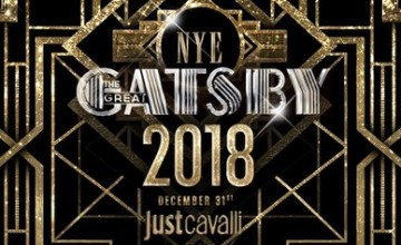 The Great Gatsby, il Capodanno 2018 di Just Cavalli Milano