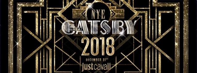 The Great Gatsby, il Capodanno 2018 di Just Cavalli Milano
