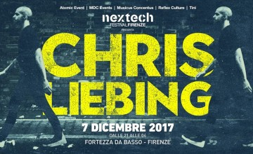 Chris Liebing protagonista del Nextech Festival di Firenze