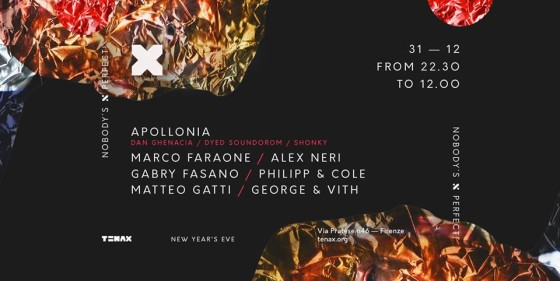 New Year's Eve Party Marathon al Tenax di Firenze