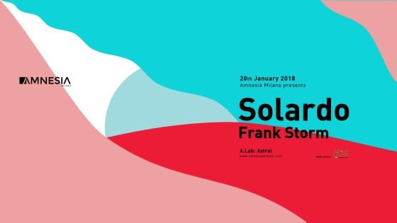 Amnesia Milano presenta Solardo e Frank Storm