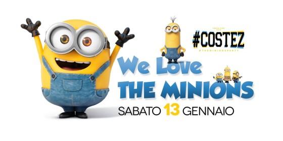I Minions invadono il Nikita #Costez di Telgate (BG)