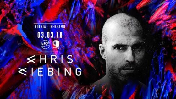 Al mixer del Bolgia di Bergamo arriva Chris Liebing