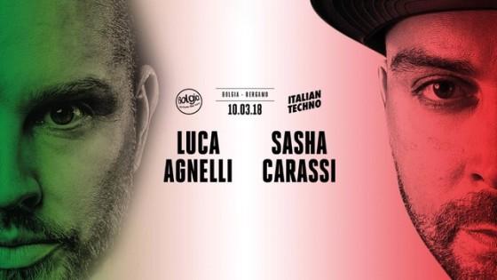 Luca Agnelli & Sasha Carassi @ Bolgia – Bergamo