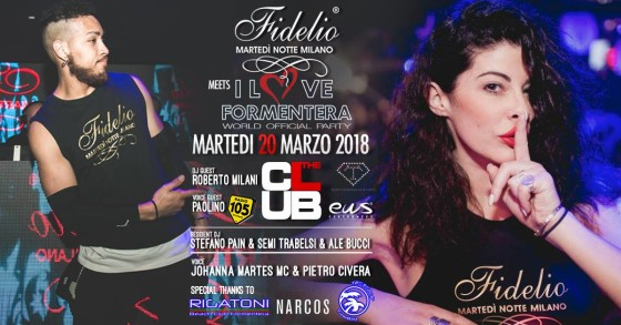 "Fidelio Milano @ The Club: ""I Love Formentera"""
