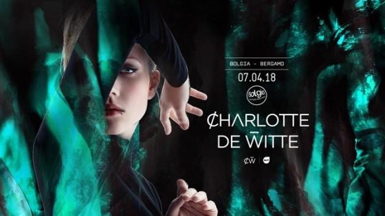 Al Bolgia il 7 aprile 2018 arriva Charlotte de Witte