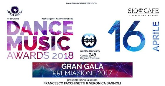 Questa sera è Dance Music Awards 2018