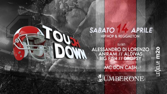 Touch Down fa scatenare il Number One di Cortefranca (BS)
