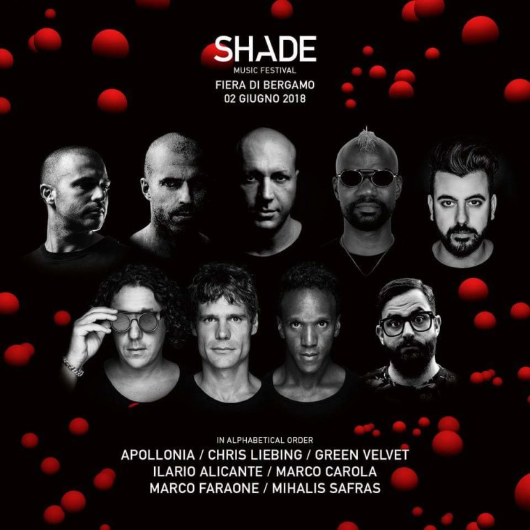 I top dj sul palco di Shade Music Festival 2018