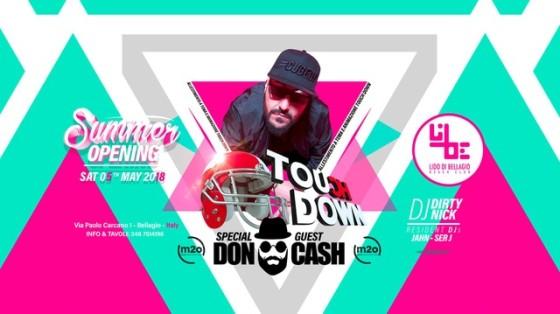 Lido di Bellagio Opening con Touch Down Ibiza
