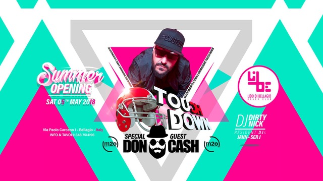 Lido di Bellagio Opening con Touch Down Ibiza