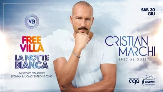 Free Villa – La Notte Bianca con Cristian Marchi a Villa Bonin Vicenza