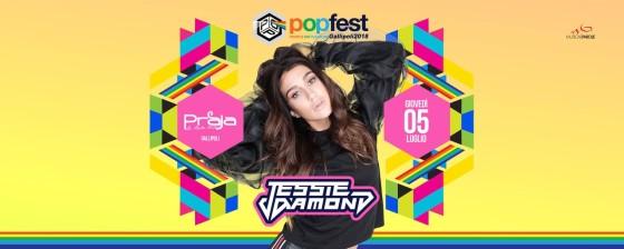 Jessie Diamond al Popfest e gli altri appuntamenti