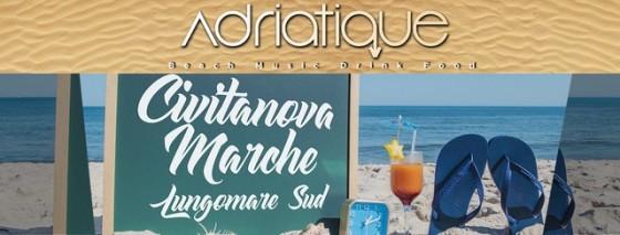 Da sabato 14 luglio 2018 iniziano i party in spiaggia di Adriatique