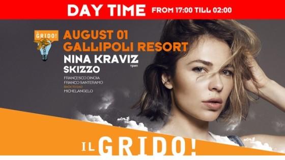Festival Il Grido! a Gallipoli, torna Nina Kraviz